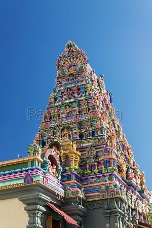 facade of a hindu temple in