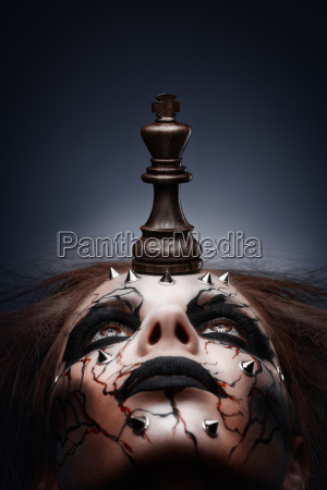 defeated by chess king