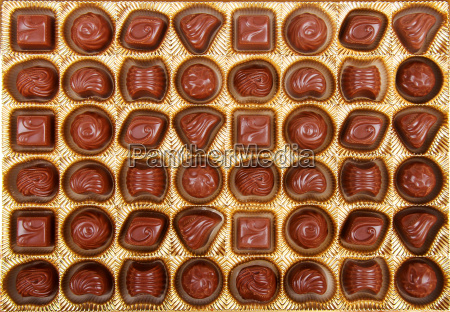 variation of chocolate candy in the