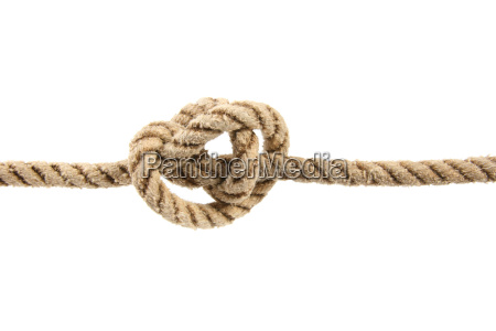rope with tied knot