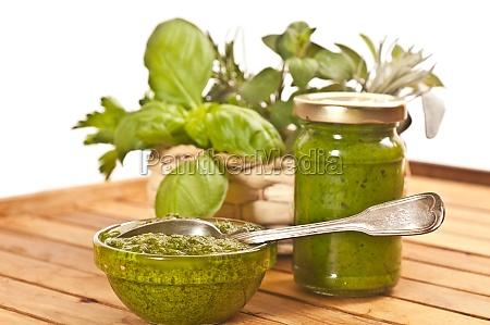herbal pesto