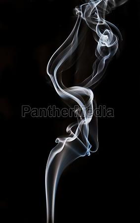 textured of incense smoke