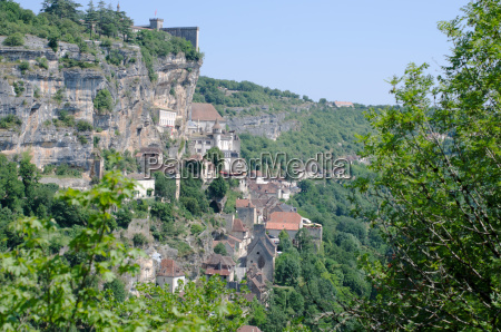 the village of rocamadour in france