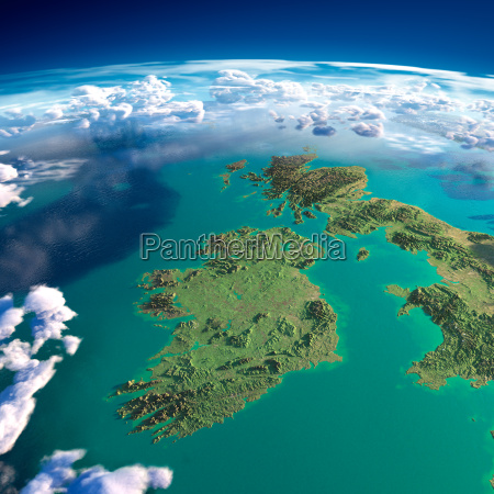 fragments of the planet earth ireland