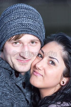 a loving couple