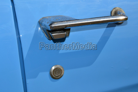 car door handle from a classic