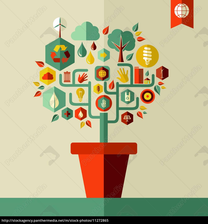 green, environment, tree, concept - 11272865