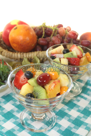 fruit, salad, on, a, napkin - 11300367