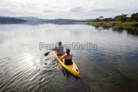 girls holidays canoe waters