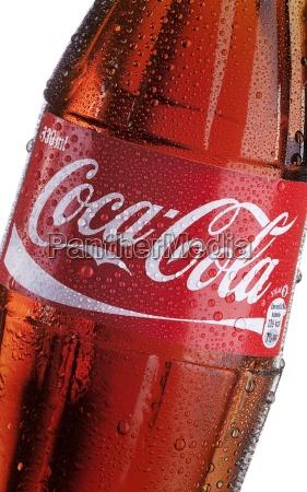 garrafa de coca cola detalhe