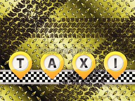 abstract taxi background design