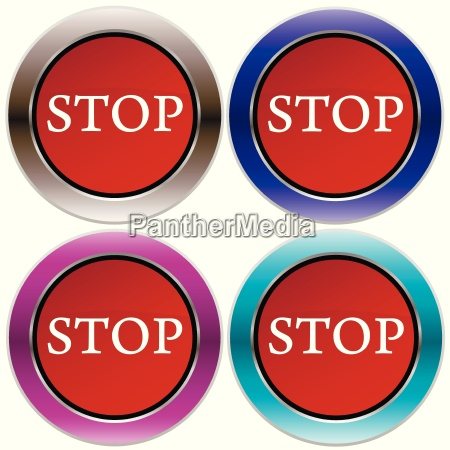 vector stop button