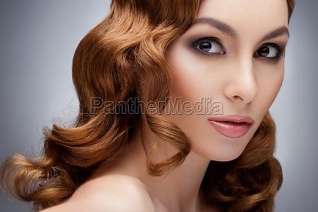 redhead beautiful woman