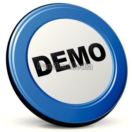 vector 3d demonstration icon