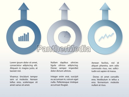 infographic design with arrows and diagrams