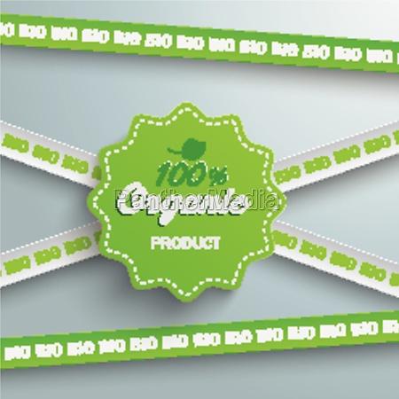bio sticker lines 100 organic