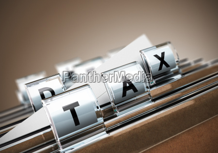 tax konzept