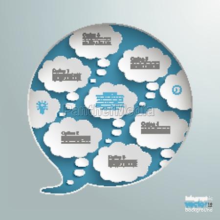 speech bubble hole 8 thought bubbles