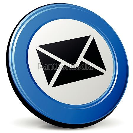 vector envelope 3d icon