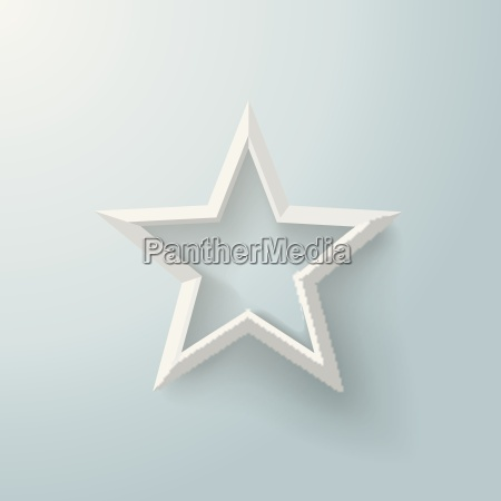 white star only