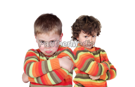 two children with the same jersey