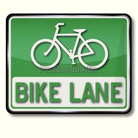 shield bike lane