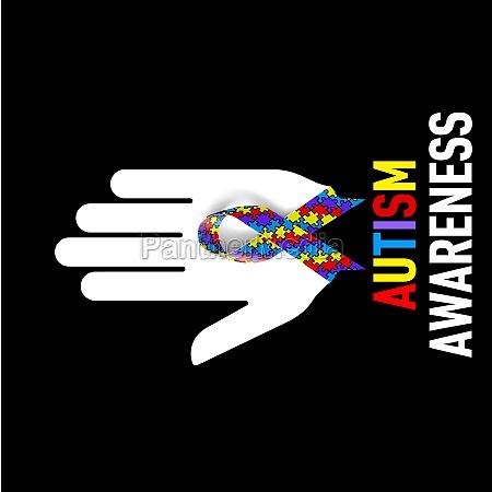 autism awareness sign