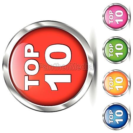 vector top ten icons