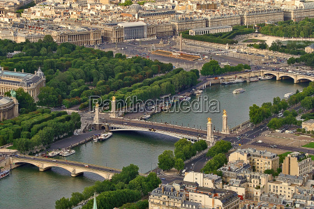 aerial view of urban buildings and