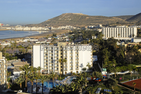 hotels in the bay of agadir
