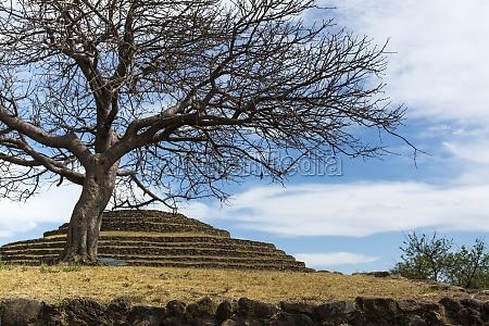 round pyramid guachimontones