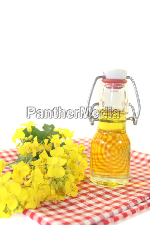 fresh rapeseed oil