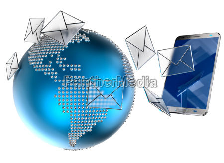 e mail or sms sent to