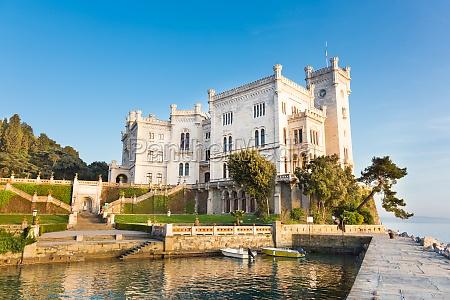 miramare castle trieste italy europe