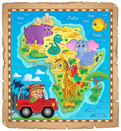 africa map theme image 4