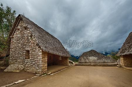 ceremonial rock of machu picchu
