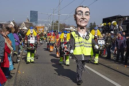 basel switzerland carnival 2014
