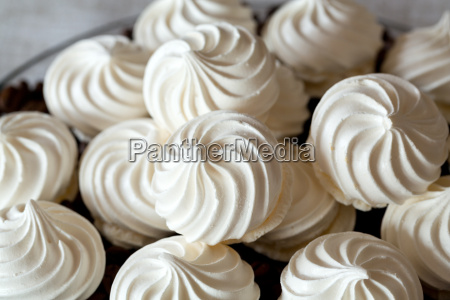 french vanilla meringue cookies and