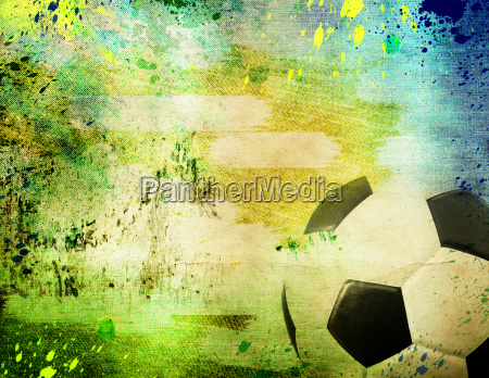 vintage photo of soccer ball