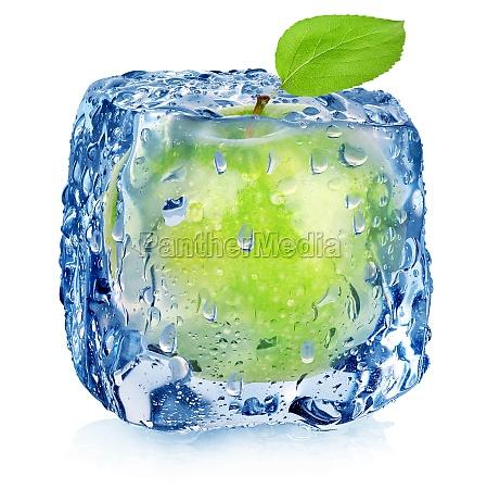 frozen green apple