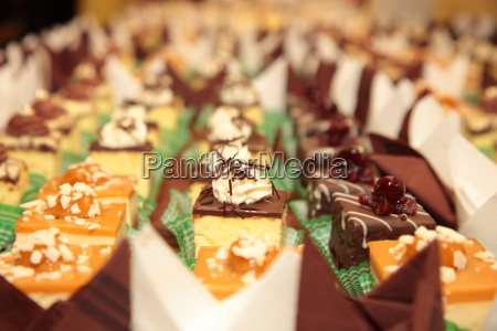 varieties of cakes desserts sweets catering