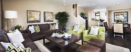 interior of contemporary living room azusa