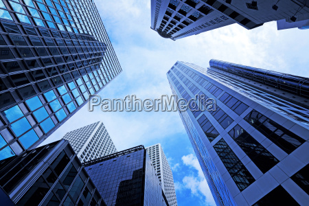 modern office building in low angle
