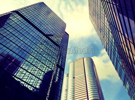 financial district in hong kong