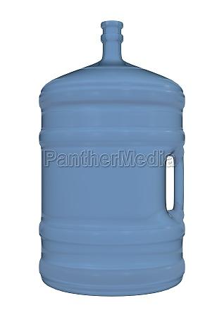 water jug on white