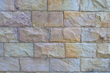 modern stone brick wall surfaced