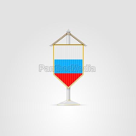 illustration of national symbols of eurasian