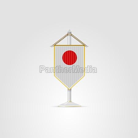 illustration of national symbols of east
