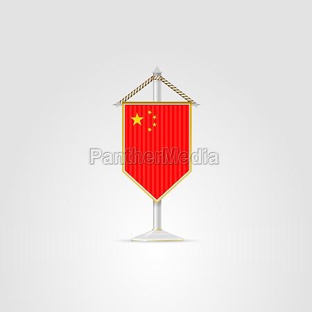 illustration of national symbols of asian