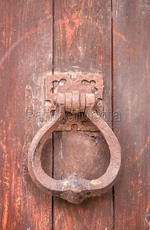 old door knocker in cagnes sur